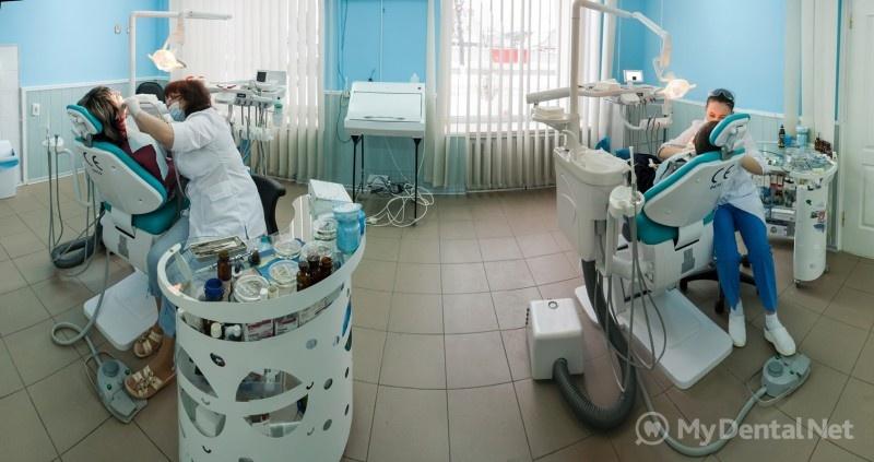 схема стоматологического кабинета вид сверху